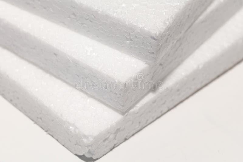 Panneau blanc de mousse photographie stock