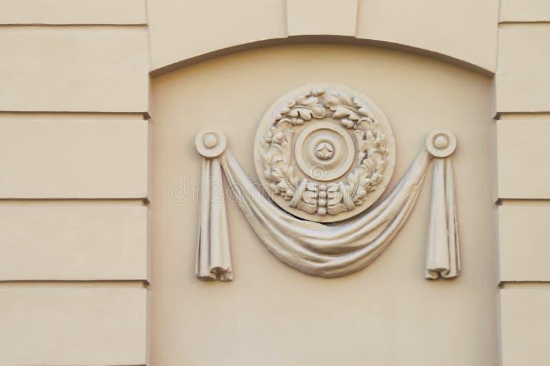 Panneau décoratif moulé illustration de vecteur