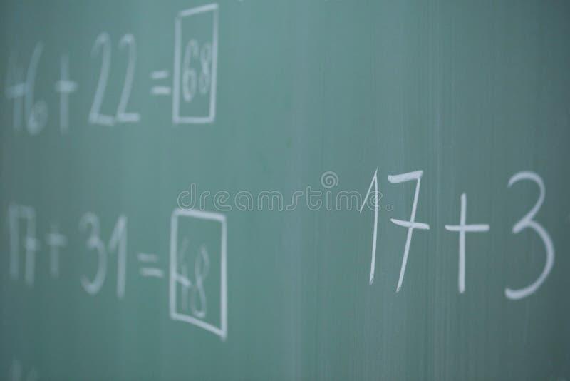 Panneau d'école image libre de droits