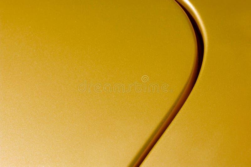 Panneau d'or photographie stock