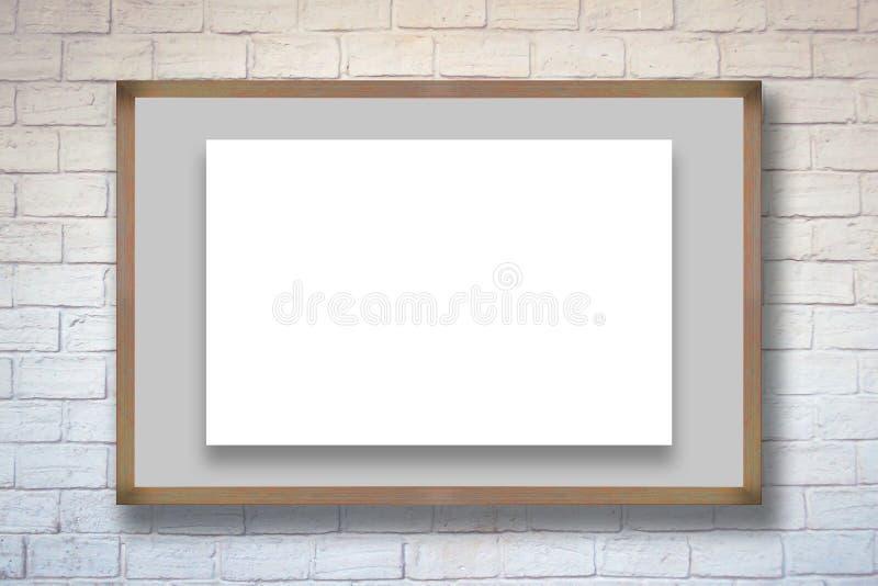 Panneau d'affichage énorme de publicité par affichage illustration libre de droits
