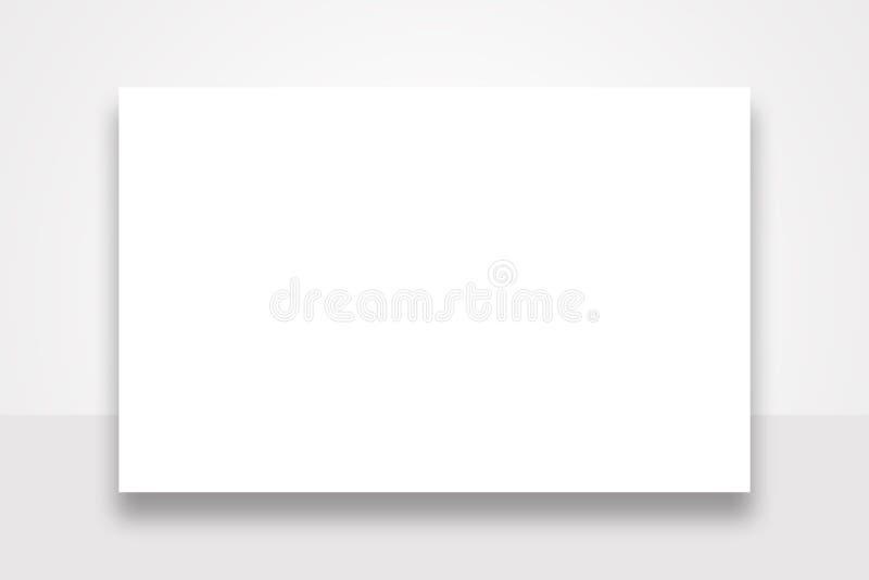 Panneau d'affichage énorme de publicité par affichage illustration de vecteur