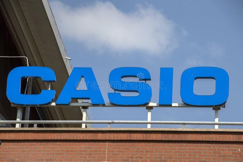 Panneau d'affichage Casio à Amstelveen les Pays-Bas 2019 photo stock