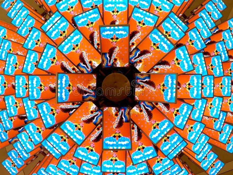 Panneau d'affichage d'affichage à cristaux liquides comme patels photos stock