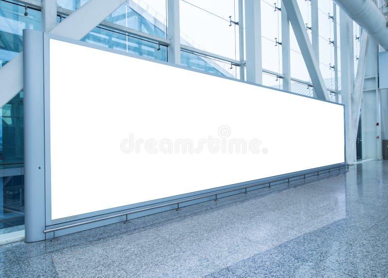 Panneau d'affichage dans le hall image libre de droits