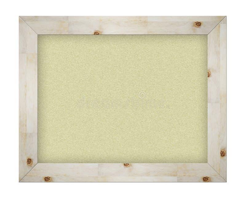 Panneau d'affichage vide de liège de bureau illustration de vecteur