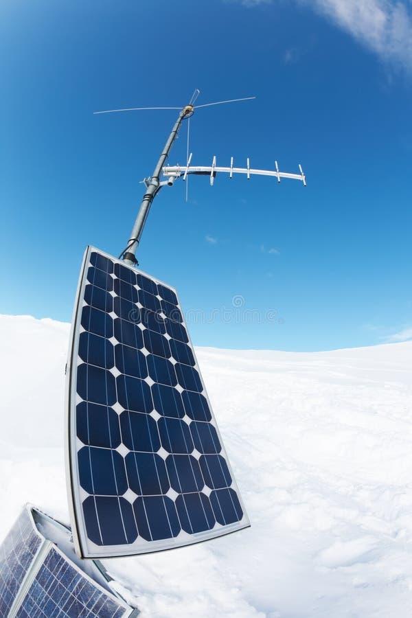 panneau d'alignement solaire photos libres de droits
