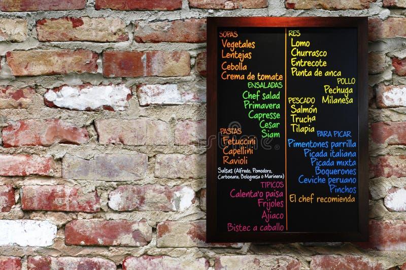 Panneau de carte. image stock
