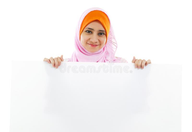 Panneau de carte blanc image stock