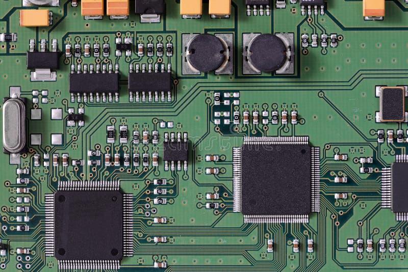 Panneau de circuit intégré photo libre de droits