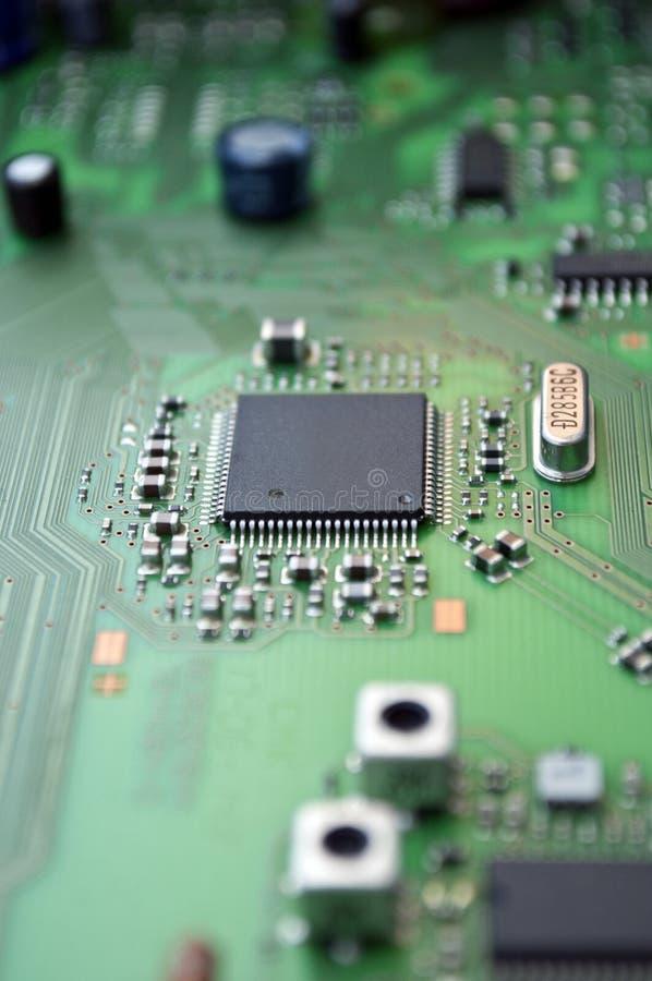 Panneau de circuit intégré images stock