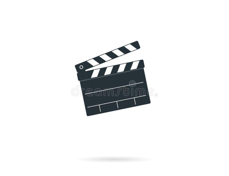 Panneau de clapet de cinéma illustration libre de droits