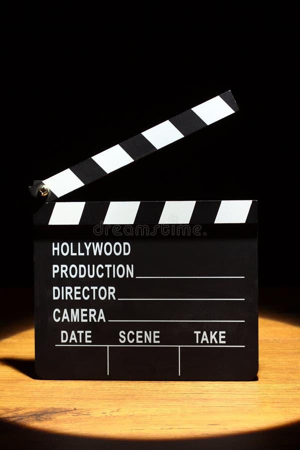 Panneau de clapet de film image libre de droits