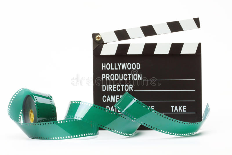 Panneau de clapet de film photo libre de droits
