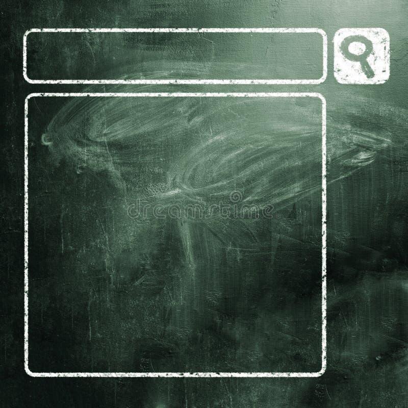 Download Panneau de craie photo stock. Image du blackboard, optimisation - 45369084