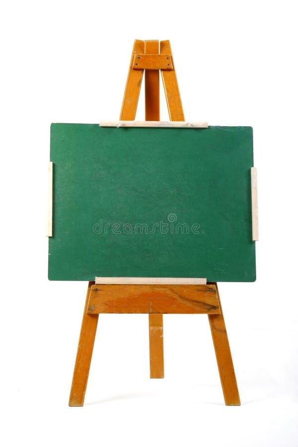 Panneau de craie blanc photos stock