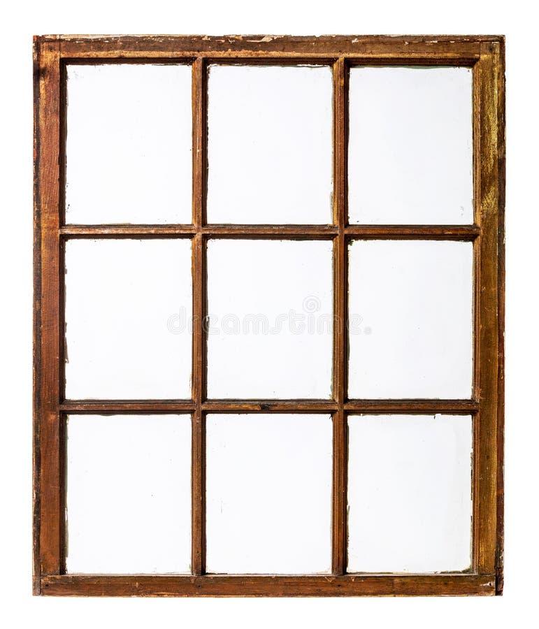 Panneau de fenêtre de ceinture de vintage image stock