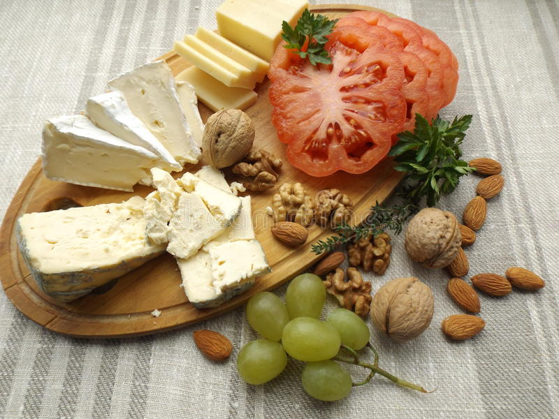 Panneau de fromage photos libres de droits