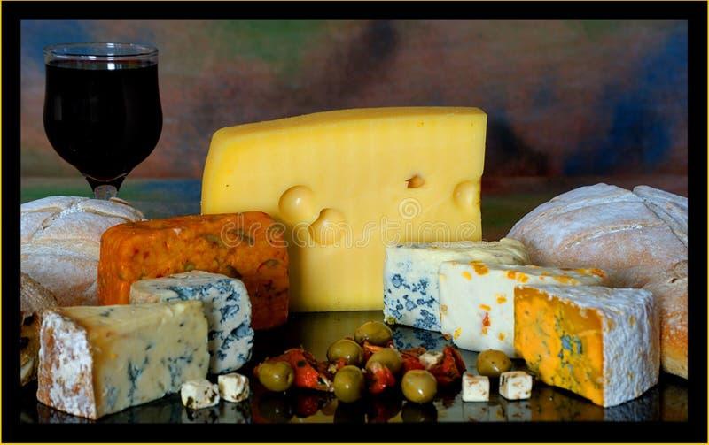 Panneau de fromage photographie stock