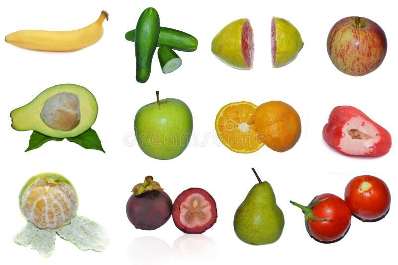 Panneau de fruit tropical photo stock