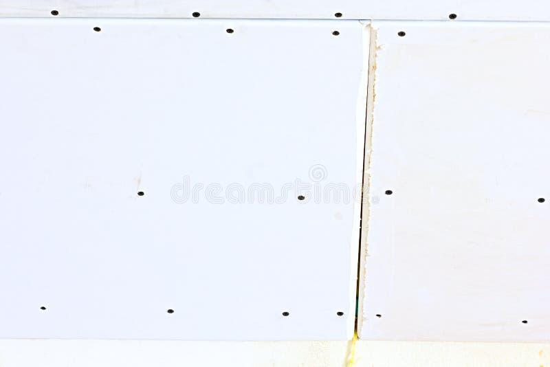 Panneau de gypse photographie stock