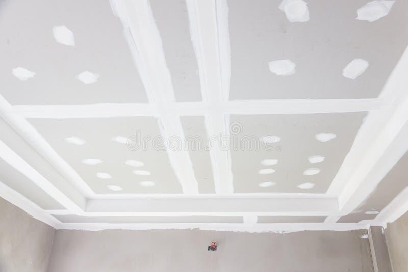 Panneau de gypse de plafond photos stock