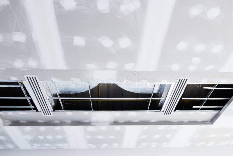 Panneau de gypse de plafond image stock