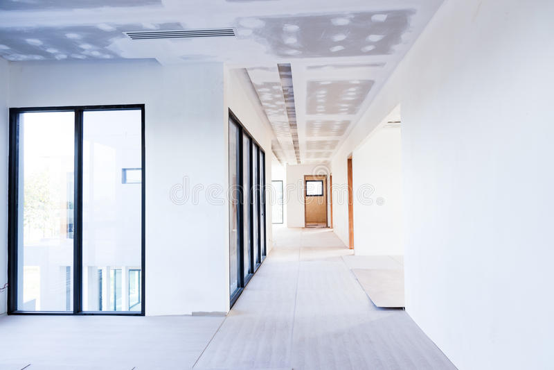 Panneau de gypse de plafond photographie stock libre de droits