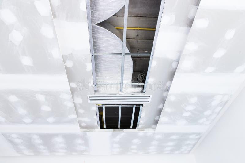 Panneau de gypse de plafond images stock
