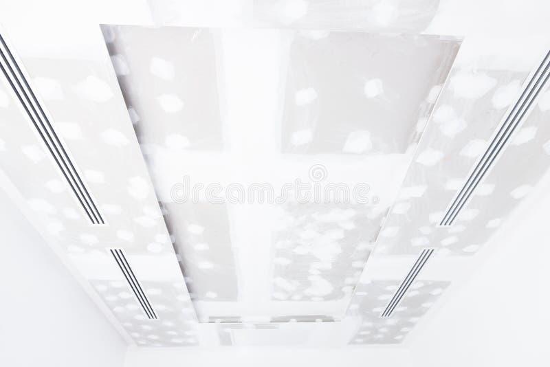 Panneau de gypse de plafond photo libre de droits