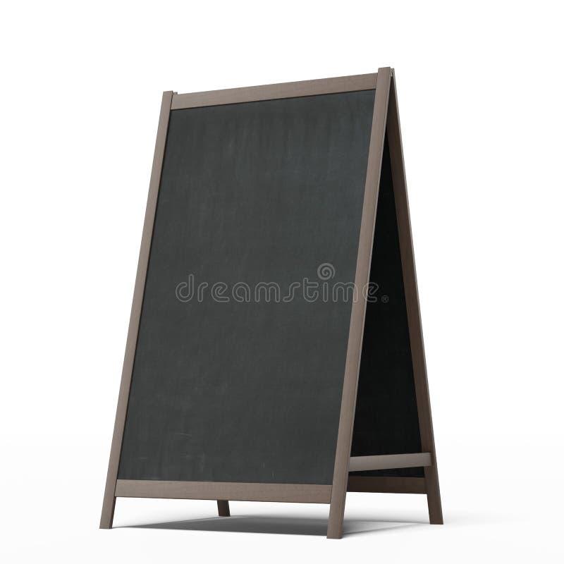 Panneau de menu illustration de vecteur