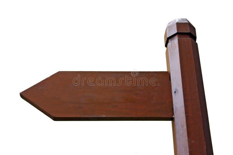 Panneau de signal de direction photo libre de droits