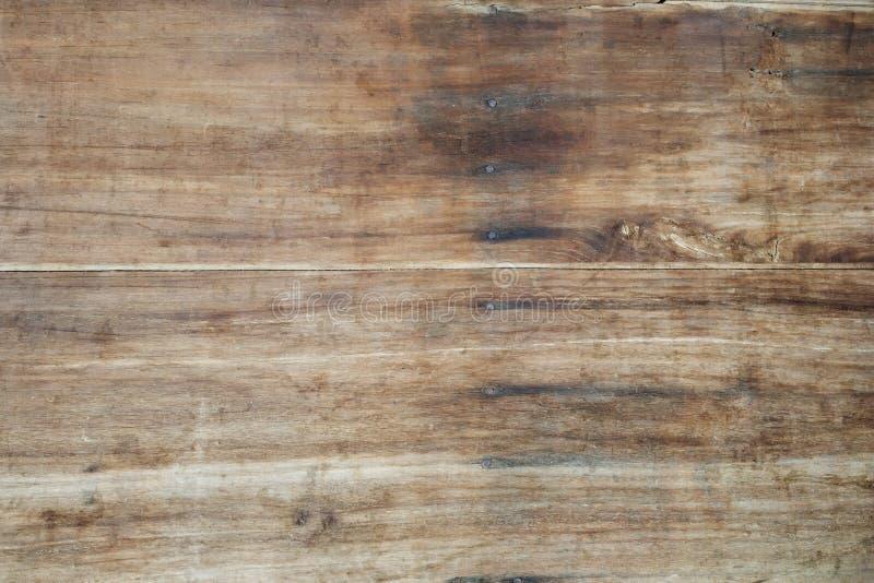 Panneau en bois de Brown photographie stock libre de droits