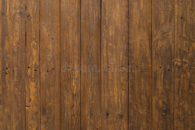 Panneau en bois de Brown image stock