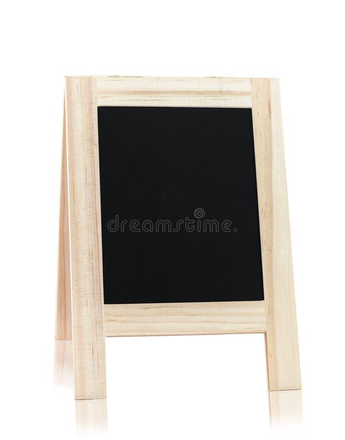 Panneau en bois de carte image stock