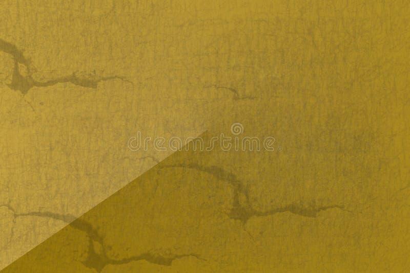 Panneau en métal de texture d'éraflure de couleur d'or photos stock