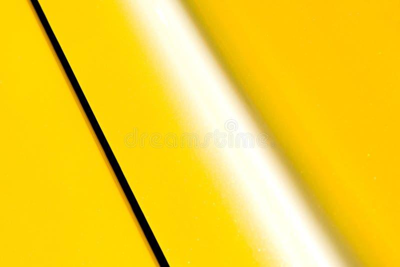 Panneau jaune photo stock