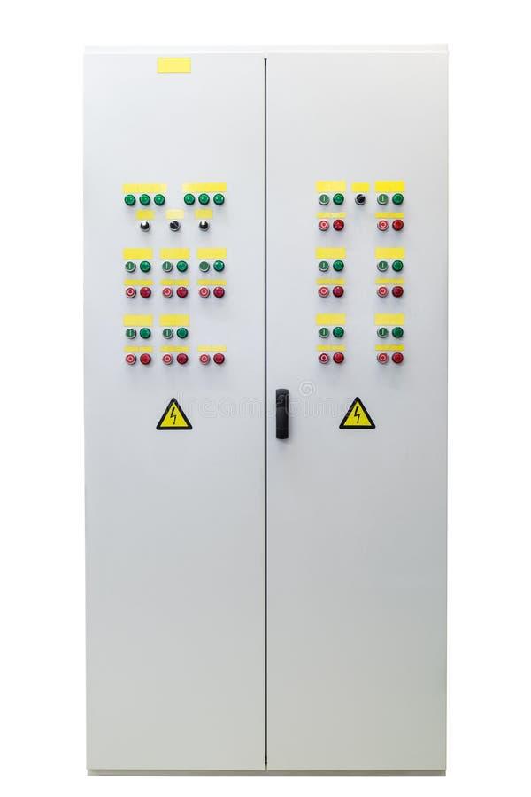 Panneau ou Cabinet électrique Représentation extérieure photographie stock libre de droits