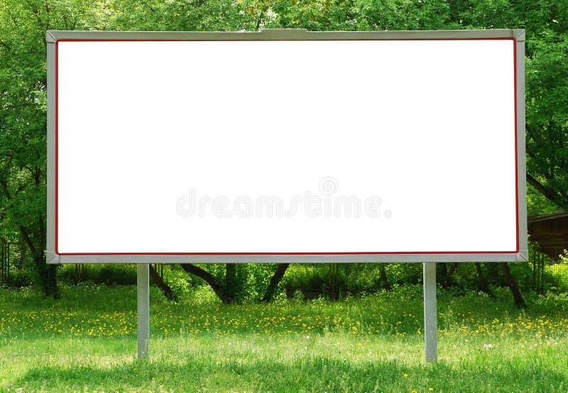 panneau-réclame photo stock