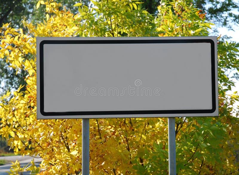 Panneau-réclame vide photo stock
