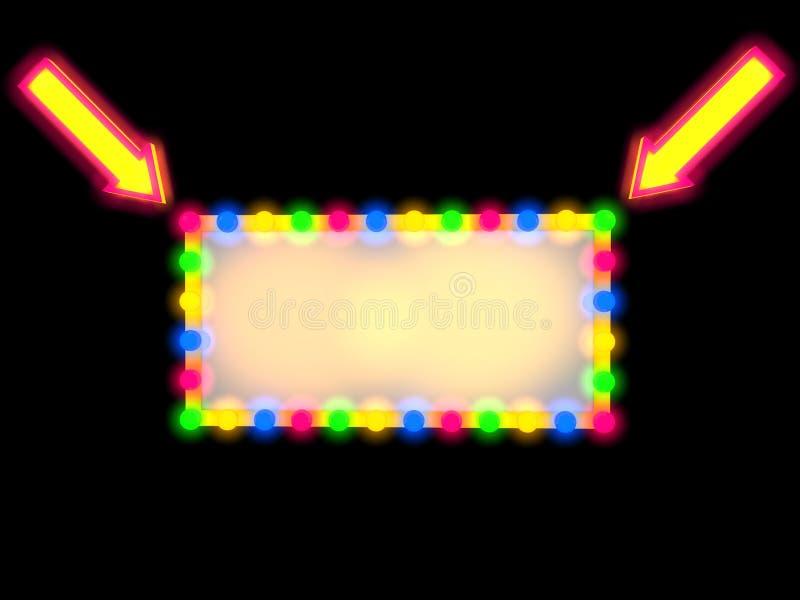 Download Panneau-réclame vide illustration stock. Illustration du film - 45371994
