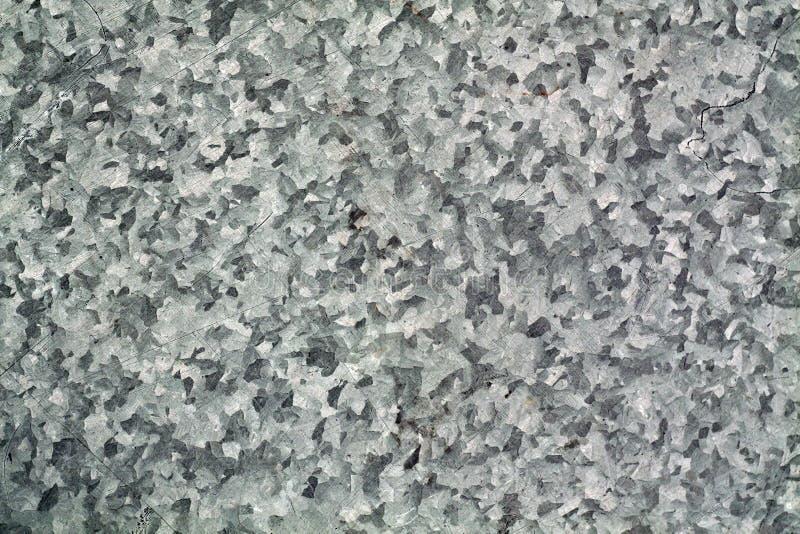 Panneau rayé par couleur grise en métal photos stock