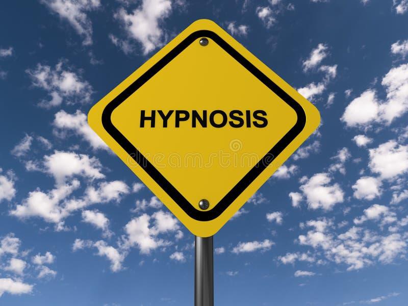 Panneau routier d'hypnose illustration libre de droits