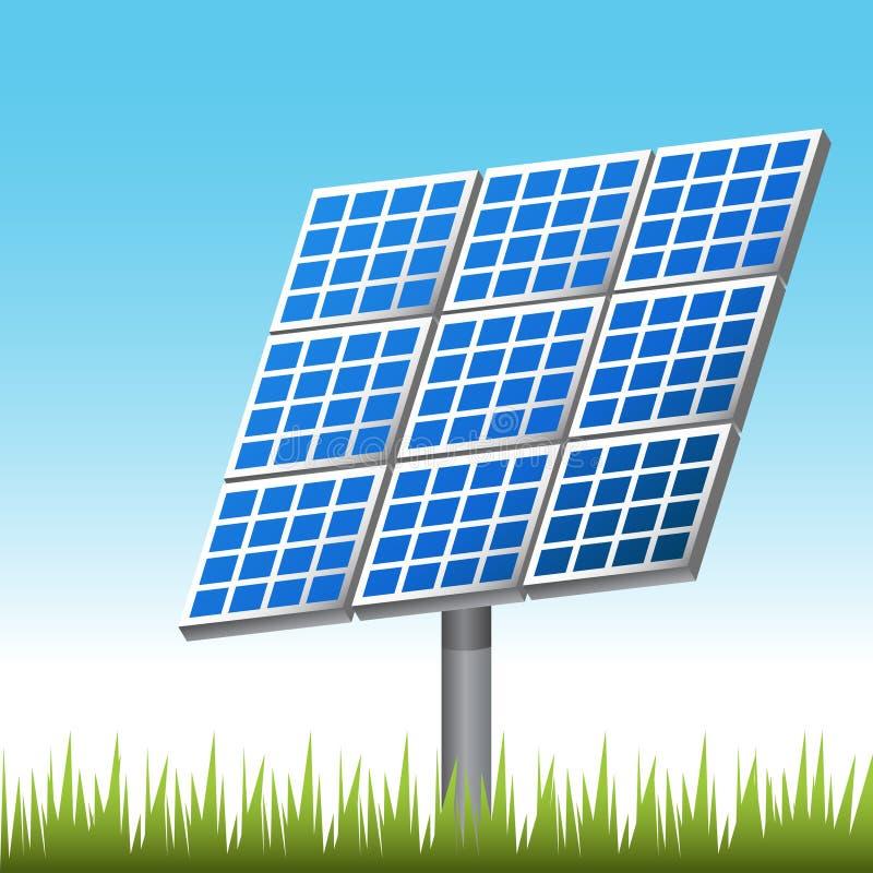 Panneau solaire illustration de vecteur