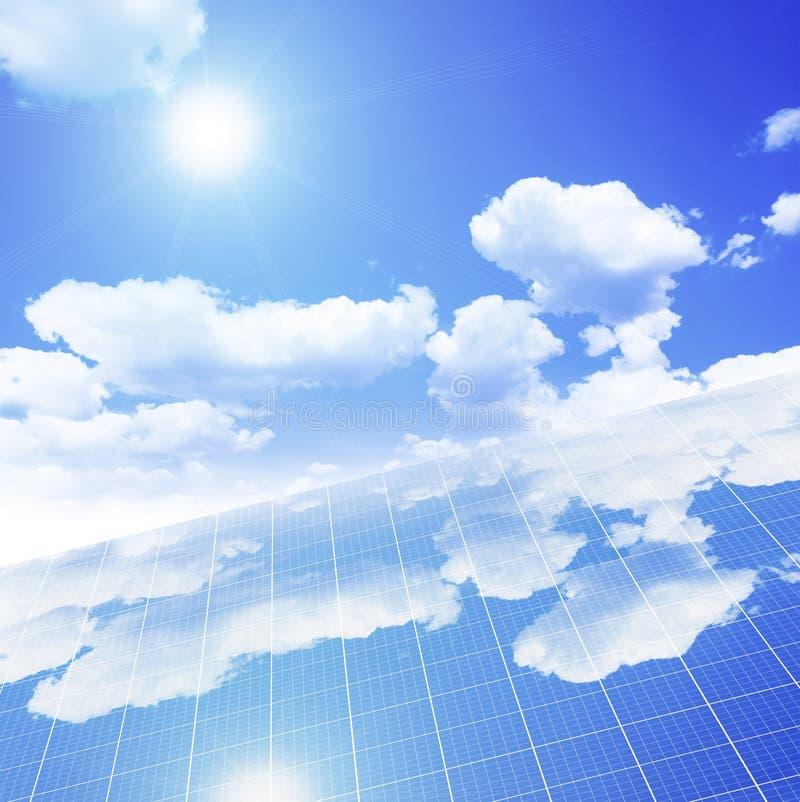 Panneau solaire illustration stock