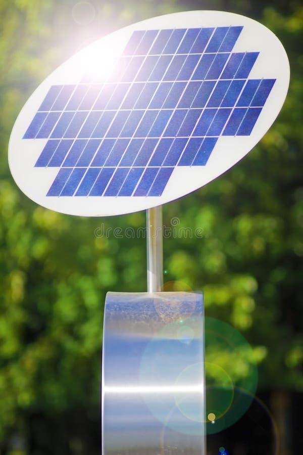 Panneau solaire. photo libre de droits