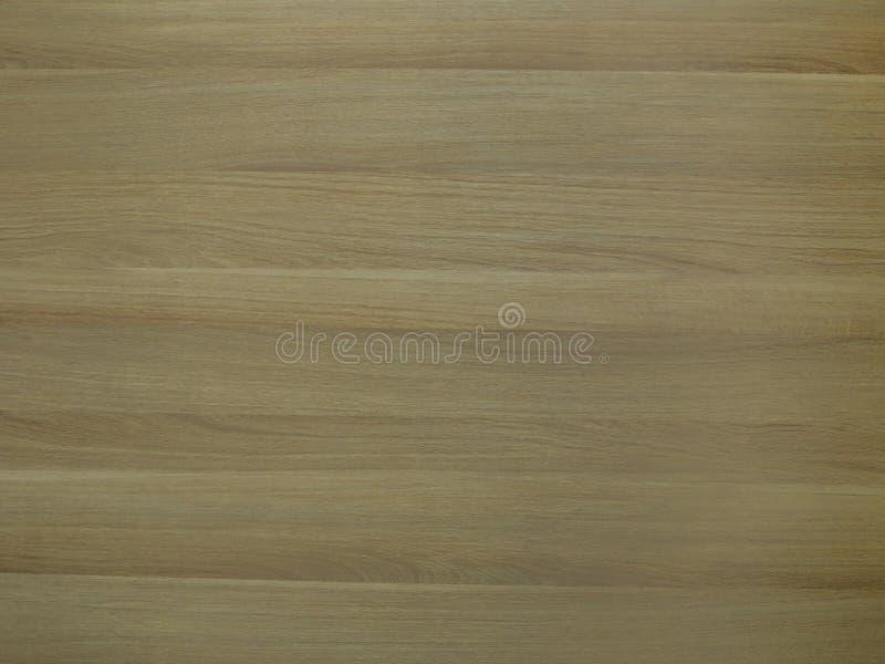 Panneau stratifié avec la texture en bois brune jaune photos stock