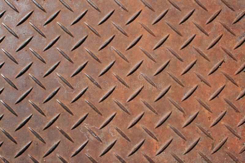 Panneau texturisé en métal photographie stock
