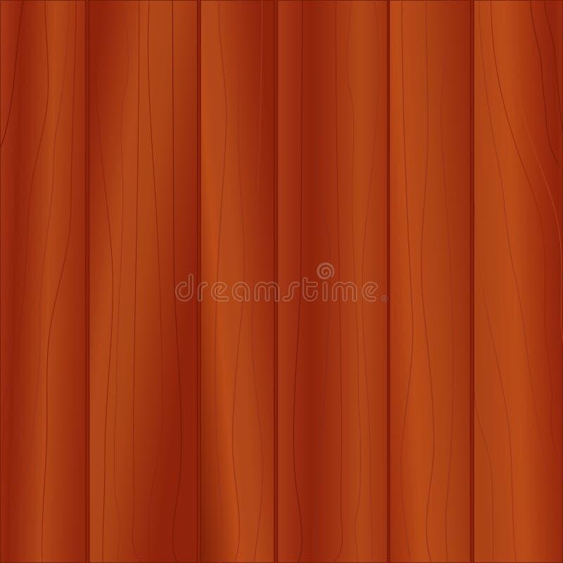 Panneautage en bois foncé (JPG+EPS) illustration libre de droits