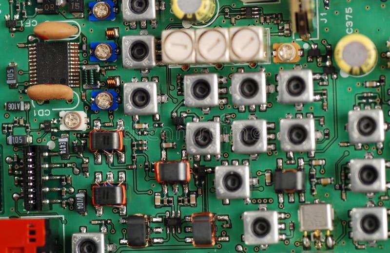 Panneaux électroniques photo libre de droits